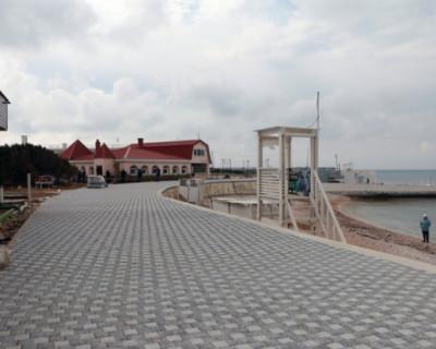 В Севастополе капитальный ремонт набережной парка Победы выполнен на 40%