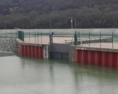 Водозабор на реке Бельбек передал более 1 млн тонн воды в Чернореченское водохранилище
