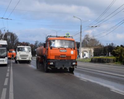 Дороги Севастополя приводят в порядок