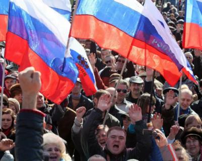 Жители Юго-востока Украины хотят присоединиться к России