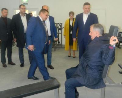 Евгений Кабанов: «Евпатория может претендовать на звание самого спортивного города Крыма»