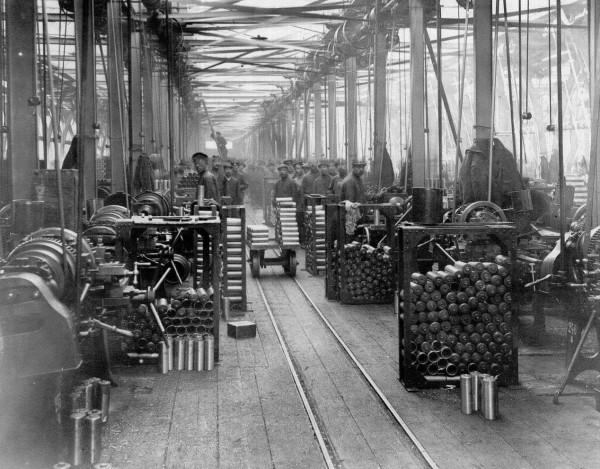 Цех путиловского завода