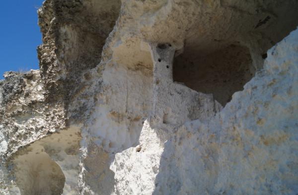 Пещера с крестом крым