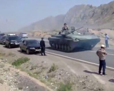 На границе Киргизии и Таджикистана возобновились бои