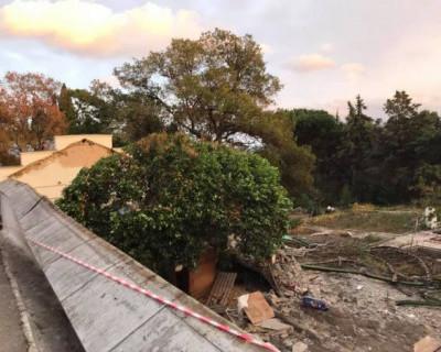 Строительство в Форосском парке будет остановлено до осени