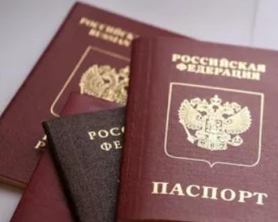 Более 500 тысяч граждан ЛДНР уже получили паспорта России