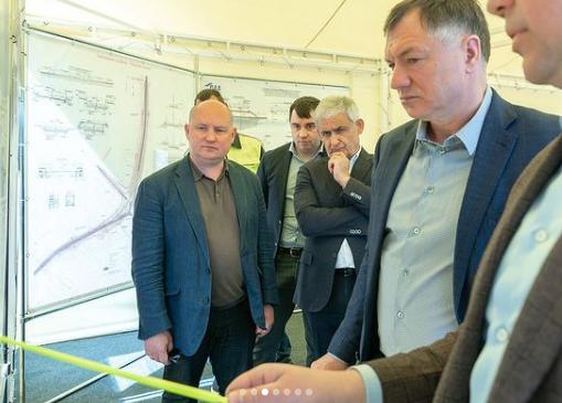 Вице-премьер Марат Хуснуллин посетил Севастополь с рабочим визитом