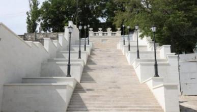 Дата открытия Митридатской лестницы в Керчи