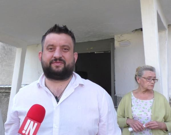Журналисты «ИНФОРМЕР» посетили квартиру пенсионерки, в которой сотрудники управляющей компании вырыли полутораметровый ров