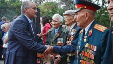Аксёнов поздравил крымчан с 76-й годовщиной Победы в Великой Отечественной войне