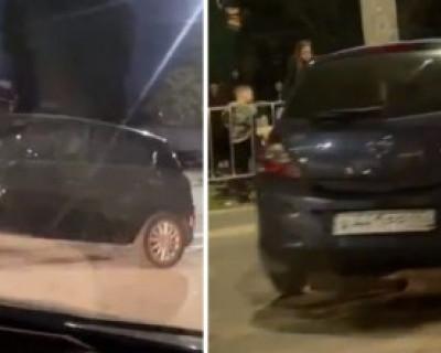 Севастопольская «гонщица» попала в ДТП, развернув машину беременной женщины