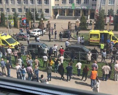 Подробности кровавой бойни в Казани (ФОТО, ВИДЕО)