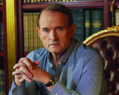 Сотрудники СБУ проводят обыск в доме Виктора Медведчука