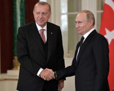 Владимир Путин и Реджеп Эрдоган провели телефонные переговоры