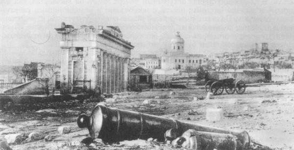 севастополь после бомбардировки