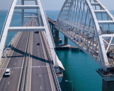 По Крымскому мосту проехало уже более 14 миллионов автомобилей