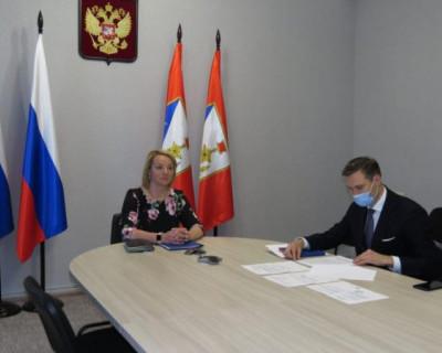 Вице-губернатор Севастополя Мария Литовко приняла участие в Морской коллегии при правительстве РФ