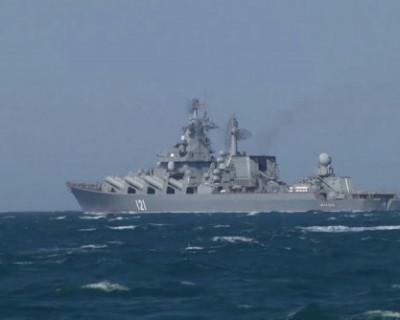 Корабли Черноморского флота отработали отражение воздушной атаки