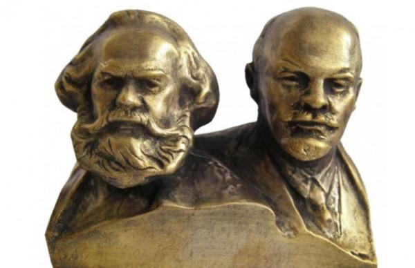 Главари российского коммунизма – Маркс и Ленин