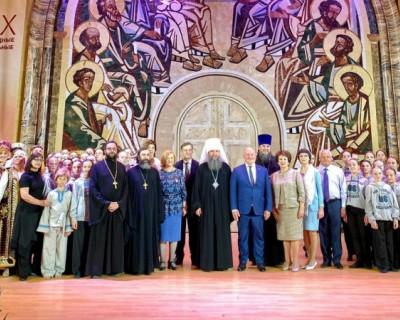 Юные артисты Севастополя представили спектакль в храме Христа Спасителя в Москве