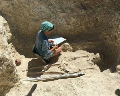 В районе Инкермана обнаружены захоронения знати I века