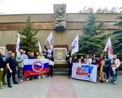 В Севастополе прошла эстафета Победы
