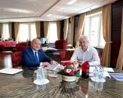 Михаил Развожаев и Сергей Собянин обсудили итоги реализации соглашения о сотрудничестве