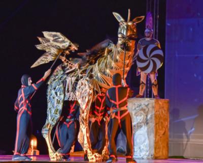 В Севастополе начался третий сезон спектакля «Грифон»