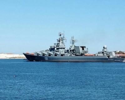 Ракетный крейсер «Москва» вернулся в Севастополь