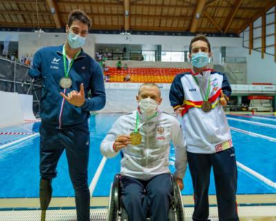 Параспортсмен Андрей Граничка завоевал пять медалей на чемпионате Европы