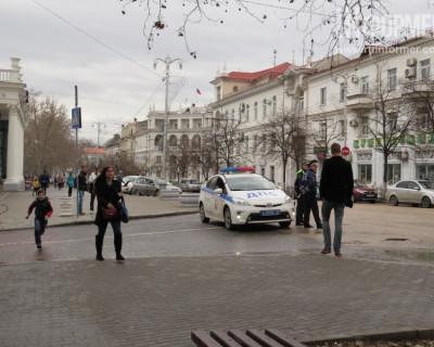 В самом центре Севастополе искали взрывное устройство (фото)
