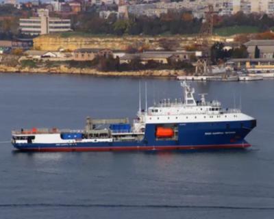 Вспомогательные силы ЧФ РФ пополнились новым танкером