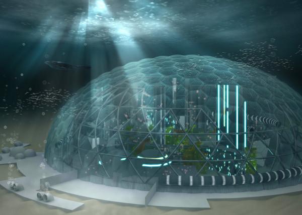 Подводные города Крым