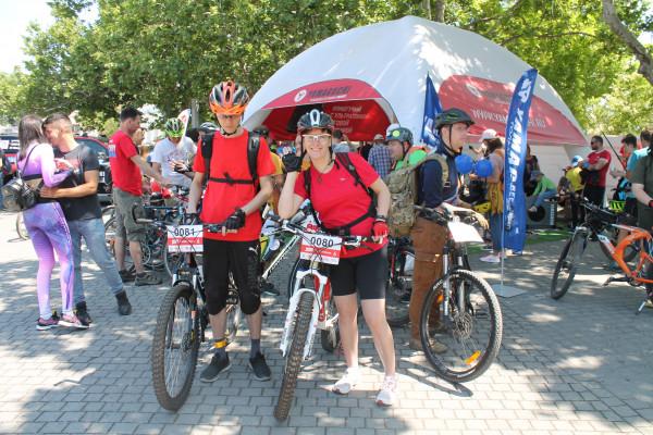 Тысячная велоколонна прокатилась по центру Севастополя 5