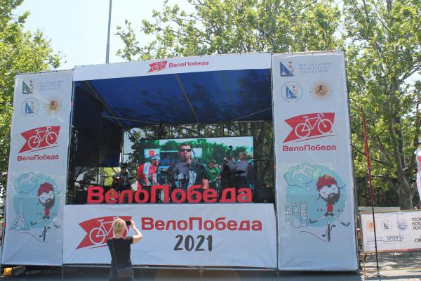 Тысячная велоколонна прокатилась по центру Севастополя 2
