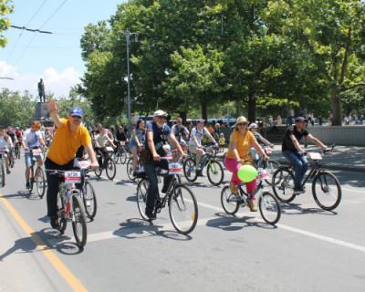 Шестой фестиваль «ВелоПобеда» в Севастополе