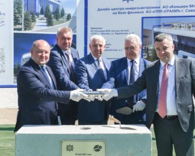 В Севастополе стартовало строительство дизайн-центра микроэлектроники