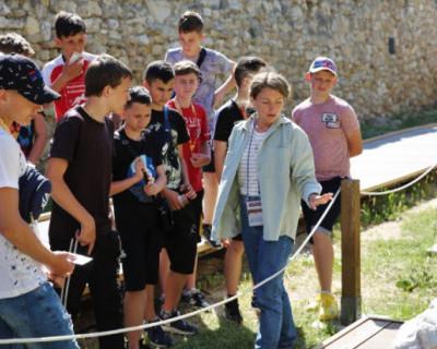 Херсонес посетила детско-юношеская футбольная команда из ЛНР