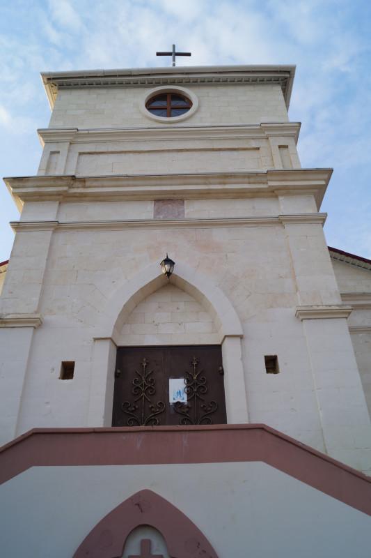 Лютеранская церковь в селе Кольчугино