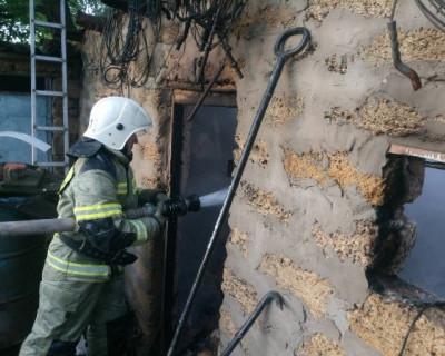В Крыму во время пожара погиб мужчина