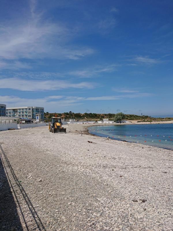 благоустройство пляжа