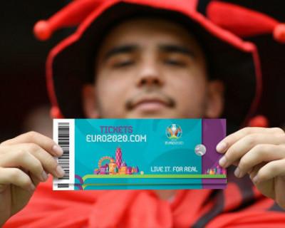 Россиян предупредили о фальшивых билетах на Евро-2020