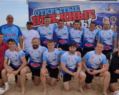 Севастопольская «Чайка» стала четвертой на «Russia beach games 2021»