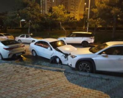 ДТП в Севастополе: пьяный водитель разбил три автомобиля и попытался скрыться