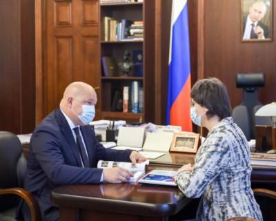 Марина Песчанская отчиталась перед губернатором Севастополя