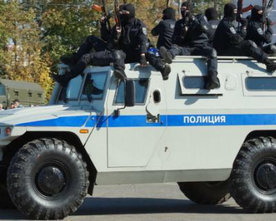 В Севастополе пройдет показ полицейской техники