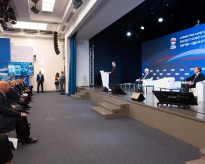 Михаил Развожаев рассказал об итогах работы партии «Единая Россия» в Севастополе