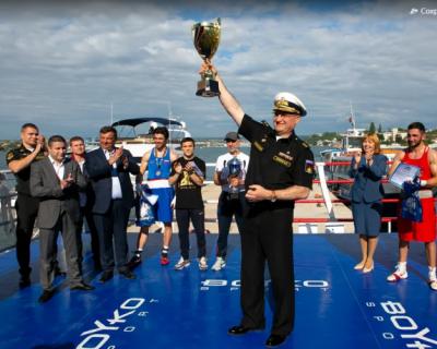 В Севастополе состоялась матчевая встреча на Кубок командующего Черноморским флотом