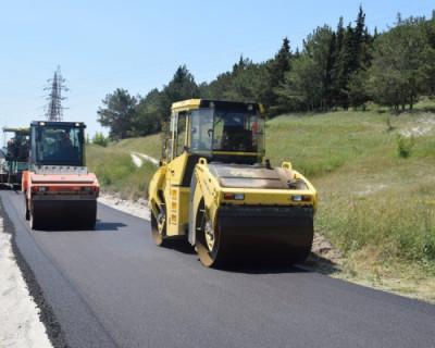 В Севастополе ремонт дорог проводится круглосуточно