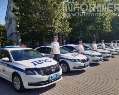 В Севастополе прошел показ полицейской техники